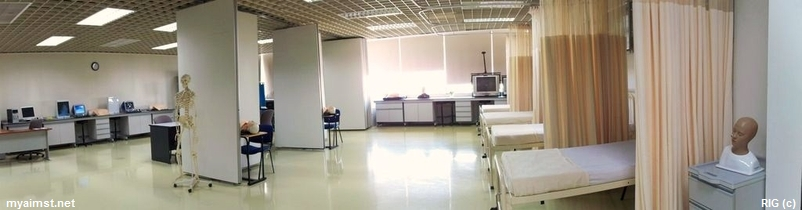 Aimst Medical Faculty building Clinical Skills Center